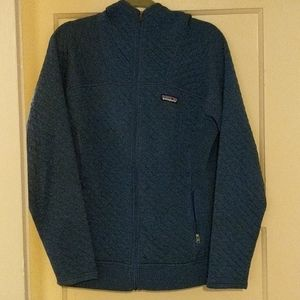 Patagonia quilted zip up